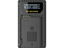 NITECORE UNK1 Dual-Slot USB Travel Charger for Nikon EN-EL14, EN-EL14a, and EN-EL15  Batteries