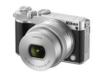 Nikon 1 J5 Mirrorless Digital Camera with 10-30mm Lens (Silver)