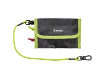 Tenba Tools Reload Universal Card Wallet (Black Camouflage/Lime)