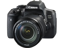 Canon EOS 750D DSLR Camera with 18-135mm Lens