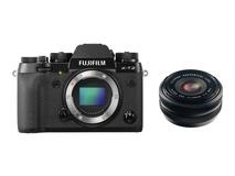 Fujifilm X-T2 Mirrorless Digital Camera with XF 18mm f/2.0 R Lens