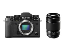 Fujifilm X-T2 Mirrorless Digital Camera with XF 55-200mm f/3.5-4.8 R LM OIS Lens