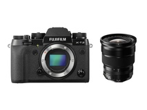 Fujifilm X-T2 Mirrorless Digital Camera with XF 10-24mm f/4.0 R OIS Lens