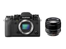 Fujifilm X-T2 Mirrorless Digital Camera with XF 56mm f/1.2 R APD Lens