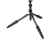 3 Legged Thing Eclipse Leo Carbon Fiber Travel Tripod (Gunmetal Gray)