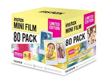 Fujifilm instax Mini Film Limited Edition Pack (80 Exposures)