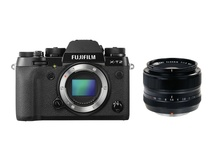 Fujifilm X-T2 Mirrorless Digital Camera with XF 35mm F1.4 R Lens