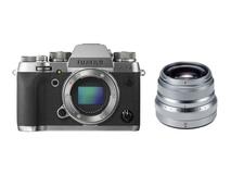 Fujifilm X-T2 Mirrorless Digital Camera with XF 35mm F2 R WR Lens (Silver)