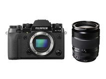 Fujifilm X-T2 Mirrorless Digital Camera with XF 18-135mm F3.5-5.6 R LM OIS WR Lens (Black)