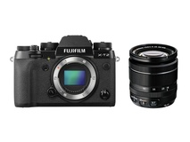 Fujifilm X-T2 Mirrorless Digital Camera with XF 18-55mm F2.8-4 R LM OIS Lens