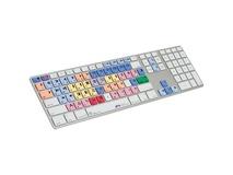 Logic Keyboard Pro Line Avid Media Composer Apple Ultra-Thin Aluminum Keyboard