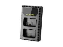 NITECORE USN1 USB Dual-Slot Charger for Sony NP-FW50 Batteries
