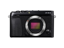 Fujifilm X-E3 Mirrorless Digital Camera (Body Only, Black)