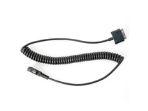 PatrolEyes HD Body Camera Push-to-Talk Cable for Select Kenwood Radios