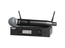 Shure GLXD24R/B58 Handheld Wireless System with Beta 58A Microphone