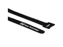 "Hosa Technology WTI-508 Hook & Loop Cable Ties 0.5 x 8"" (Black, 50-Pack)"