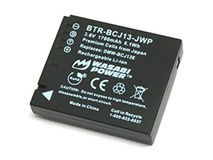 Wasabi Power Battery for Panasonic DMW-BCJ13 and Lumix DMC-LX5, DMC-LX7