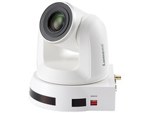 Lumens 4K UHD 12x Optical Zoom PTZ Video Camera (White)