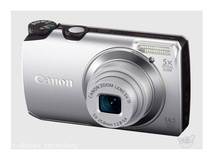 Canon Digital Powershot Camera Silver - A3200IS