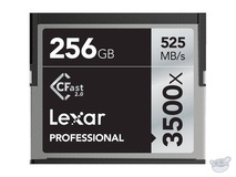 Lexar 256GB Professional 3500x CFast 2.0 Memory Card - Open Box Special