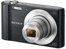 Sony Cyber-shot DSCW810B Digital Camera (Black)