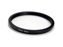 365Films 67mm to 62mm Step Down Ring