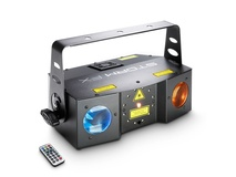 Cameo STORM FX 3-in-1 Lighting Effect Incl. IR-Remote