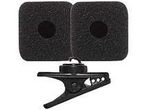 Shure RK377 Replacement Foam Windscreens and Clip for PGA31 Headset Microphone