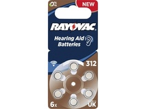 Rayovac Batteries AE312 PR41 Hearing Aid Batteries