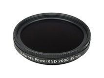 Aurora-Aperture 39mm PowerXND 2000 Variable Neutral Density 1.2 to 3.3 Filter (4 to 11 Stops)