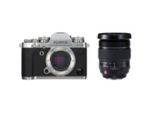 Fujifilm X-T3 Mirrorless Digital Camera (Silver) with XF 16-55mm f/2.8 R LM WR Lens