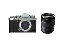 Fujifilm X-T3 Mirrorless Digital Camera (Silver) with XF 18-135mm f/3.5-5.6 R LM OIS WR Lens