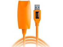 Tether Tools TetherPro USB 3.0 Type-A to USB Female Active Extension Cable 5m (Orange)