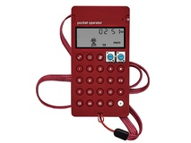 Teenage Engineering CA-X Silicone Case for Pocket Operators (Wine Red)