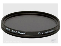 Hoya PRO1 Digital Circular Polarising filter 58mm