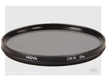 Hoya 77mm Slim Circular Polarising Filter