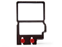 """Zacuto 3.2"""" Z-Finder Mounting Frame (Tall)"""