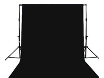 Ex-Pro Black Screen backdrop 6m x 3m