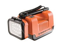 Pelican 9435 Safety Approved Remote Area Lighting System - Orange