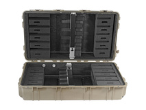 Pelican 1780RF Long Case with Rifle Foam Cut Insert (Desert Tan)