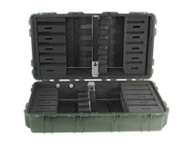Pelican 1780RF Long Case with Rifle Foam Cut Insert (Olive Drab Green)