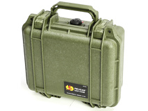 Pelican 1200 Case without Foam (Olive Drab Green)