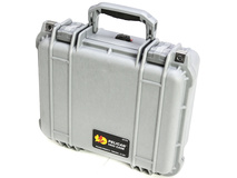 Pelican 1400NF Case without Foam (Silver)