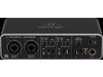 Behringer UMC202 U-Phoria 2x2 24-Bit/96 kHz USB Audio Interface
