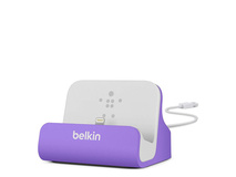 Belkin Mixit ChargeSync Dock - Purple and Cable