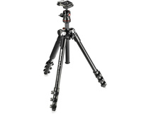 Manfrotto  MKBFRA4-BH Befree Compact Travel Aluminium Photo Tripod (Black)