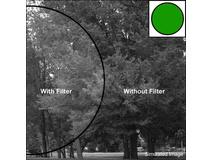 Tiffen 105C (Coarse Thread) Green 58 Glass Filter for Black & White Film