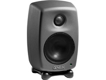 Genelec 8010 Bi-Amplified Active Monitor (Black, Single)