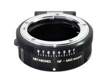 Metabones Nikon G Lens to Micro Four Thirds Lens Mount Adapter (Matte Black)