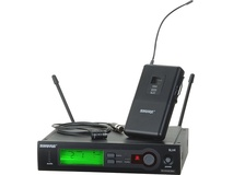 Shure SLX-84 Pro Lapel Wireless System with WL184 Lavalier mic